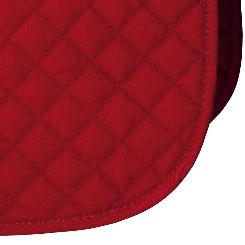 Horse & Pony Saddle Cloth 100 - Garnet Red