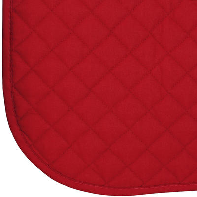 Schooling Horse Riding Saddle Cloth for Horse and Pony - Red