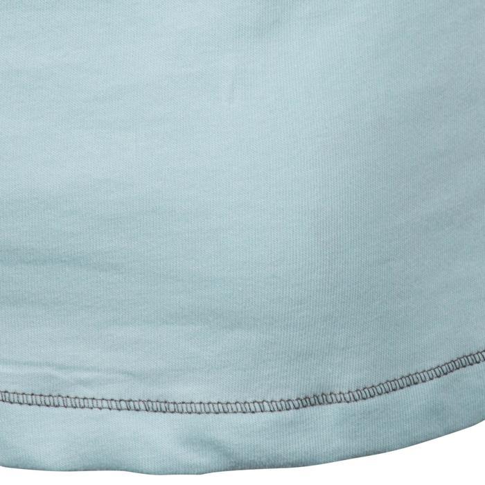 Polo manches courtes équitation enfant INDIAN PONY gris chiné - 1216613