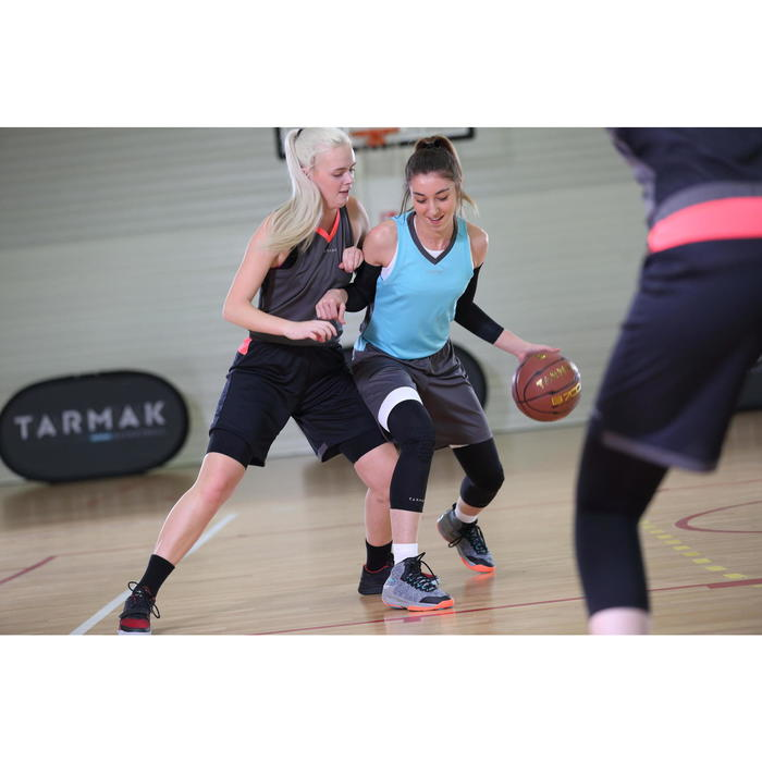 SOUS SHORT DE BASKETBALL FEMME POUR CONFIRMEE BLANC
