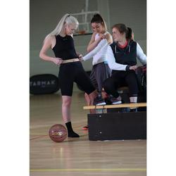 Ondershirt voor basketbal dames voor gevorderde speelsters zwart