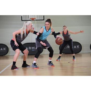 SOUS SHORT DE BASKETBALL FEMME BLANC USH500