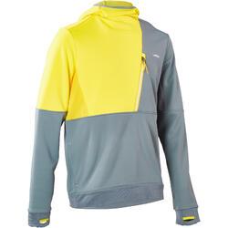 Skipullover Sweatshirt Mid Warm 700 New Herren blau/gelb