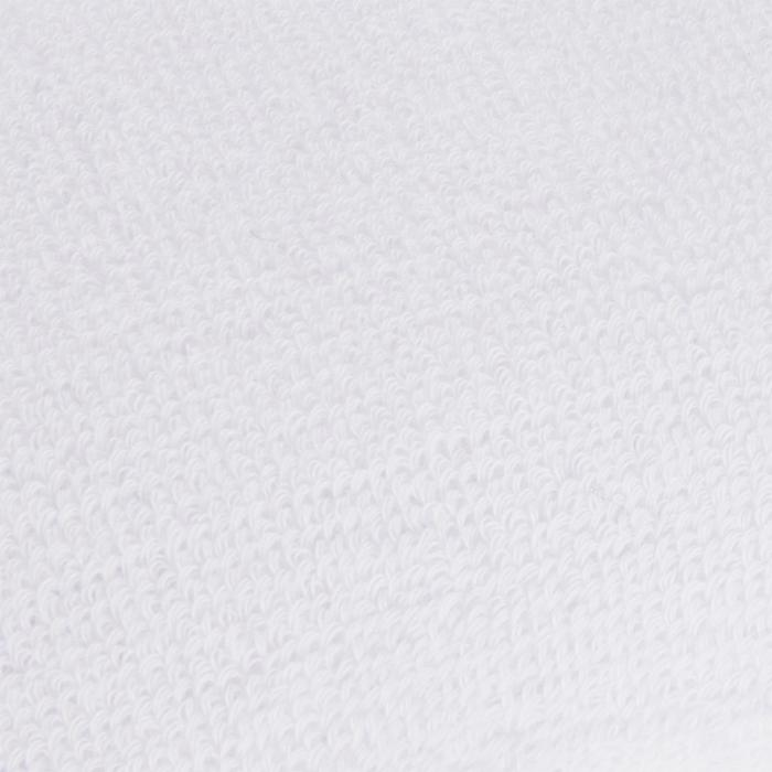 Brede polsband voor tennis Nike wit