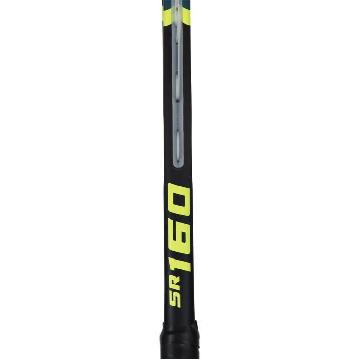 Squashschläger SR 160 besaitet Erwachsene schwarz