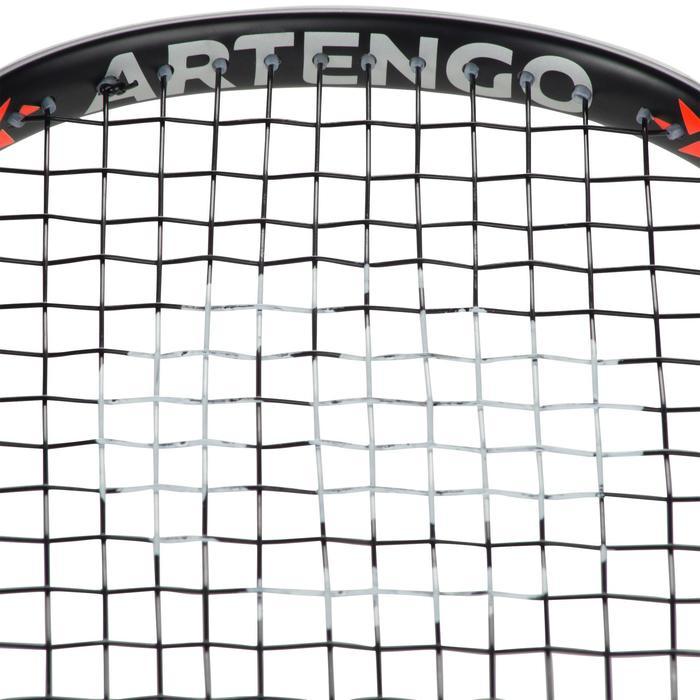 Set Raqueta Squash Artengo SR 560 Adulto Negro Naranja y Funda