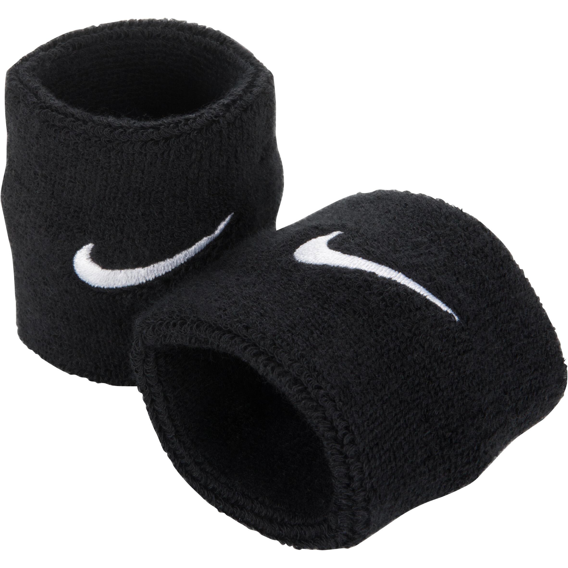 Set 2 Manșete Tenis Nike Negru