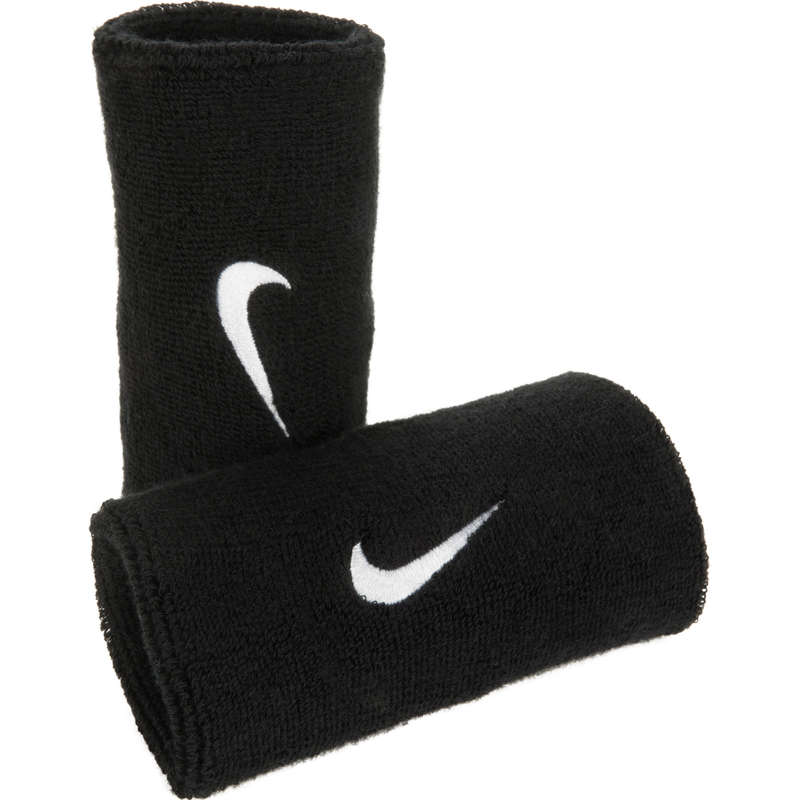 APPAREL ACCESSORIES Squash - Long Wristbands Twin-Pack NIKE - Squash Clothing