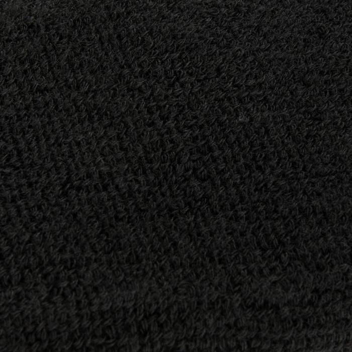 Set van twee polsbanden voor tennis zwart