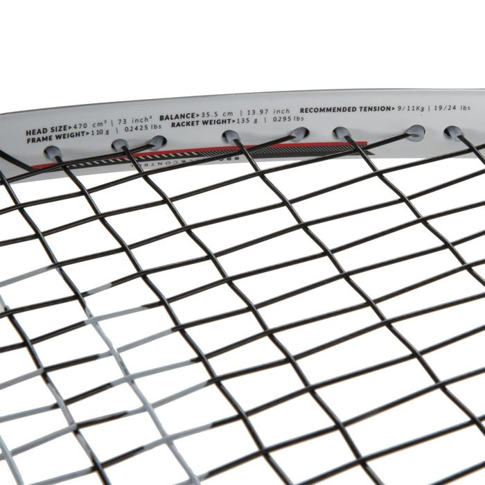 Squashschläger SR 990 besaitet Erwachsene schwarz