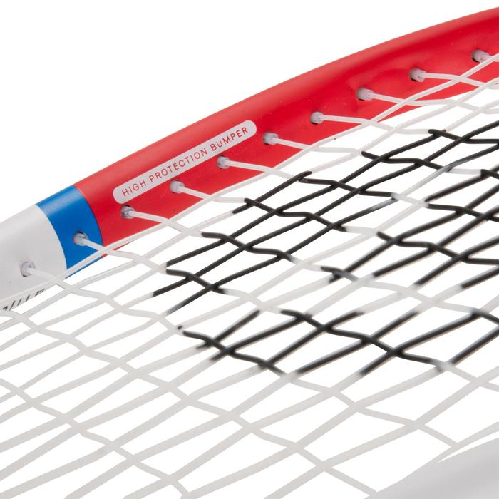 Set Raqueta Squash Artengo SR 160 Adulto Negro Rojo y Pelota Punto Rojo
