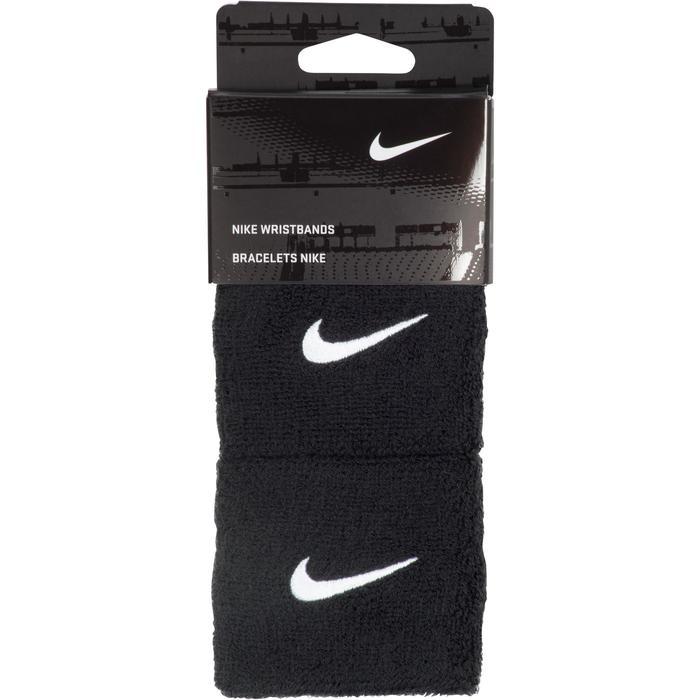 Schweißband Nike Tennis Handgelenk 2er Pack schwarz