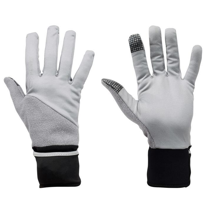 Handschoenen Evolutiv voor hardlopen grijs - 1216981