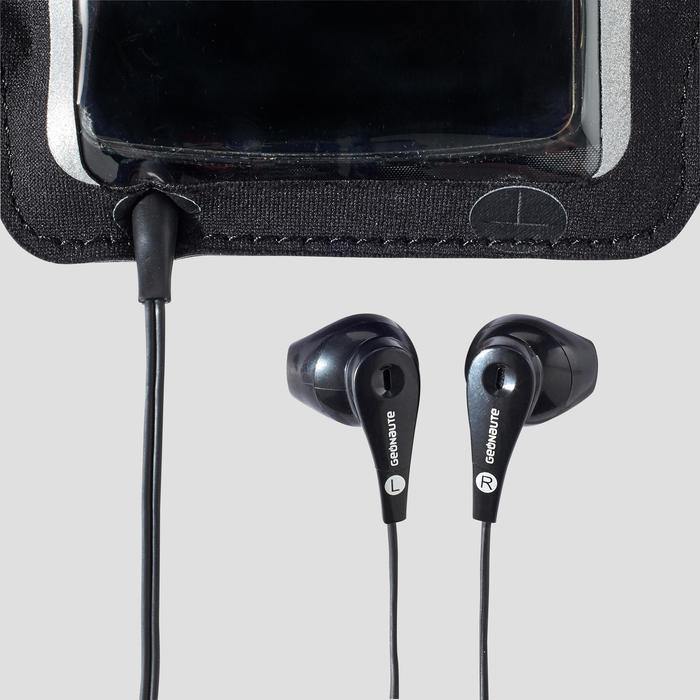 Smartphonearmband running zwart