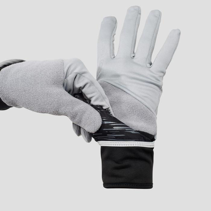Handschoenen Evolutiv voor hardlopen grijs - 1216997