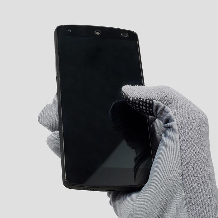 Handschoenen Evolutiv voor hardlopen grijs - 1217002