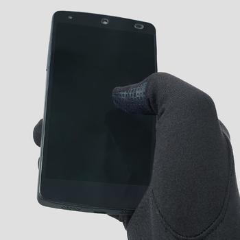 Tactiele handschoenen running zwart