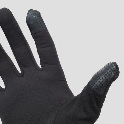כפפות תרמיות TACTILE לאימון ריצה - שחור