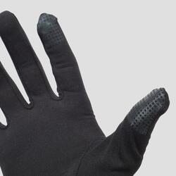 Laufhandschuhe touch schwarz