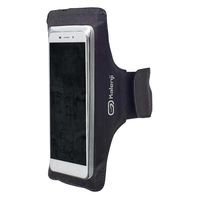 BIG SMARTPHONE RUNNING ARMBAND - BLACK