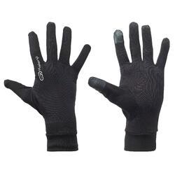 Gants de running tactiles - noir