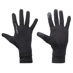 TACTILE RUNNING GLOVES - BLACK