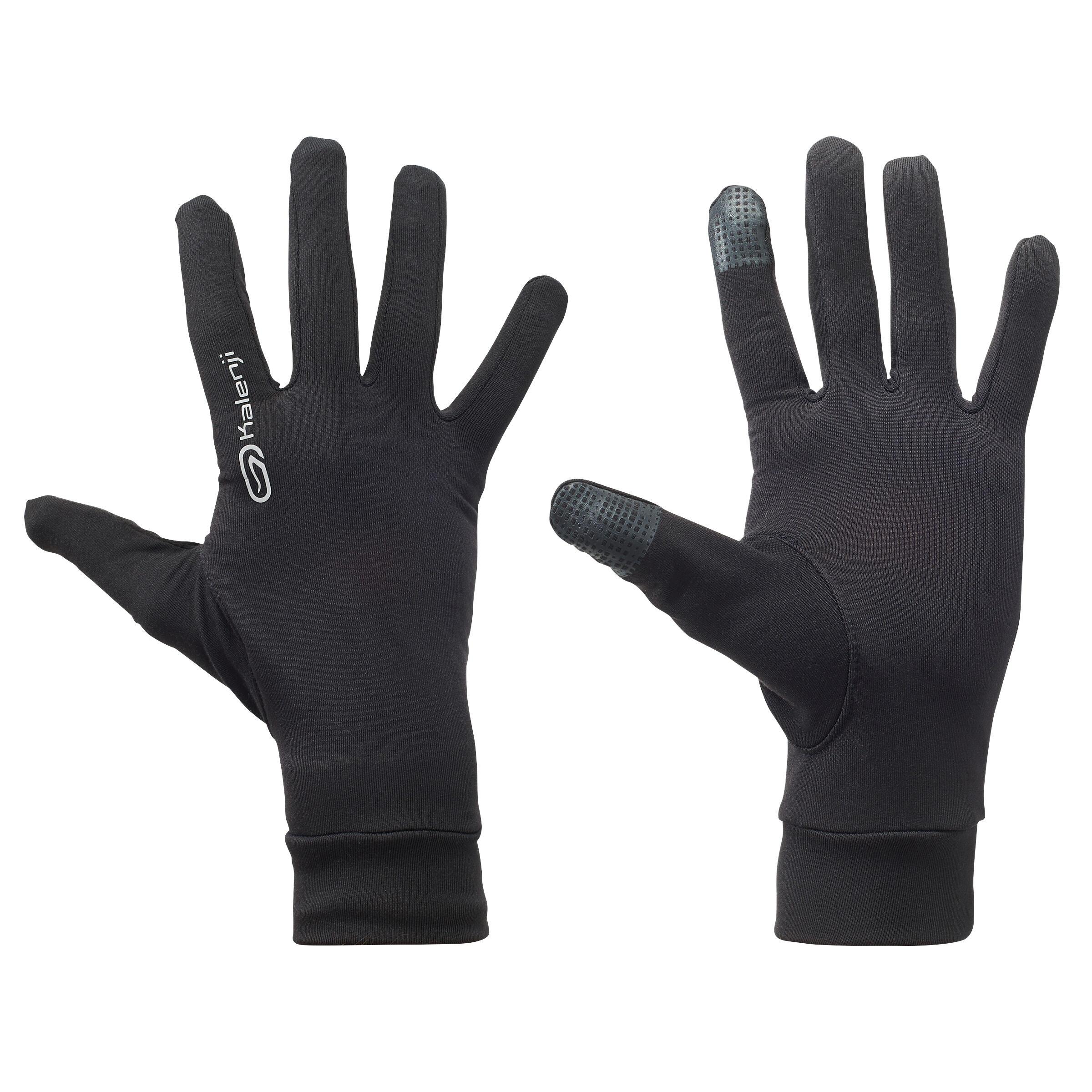 Mănuși Tactile Jogging Negru imagine