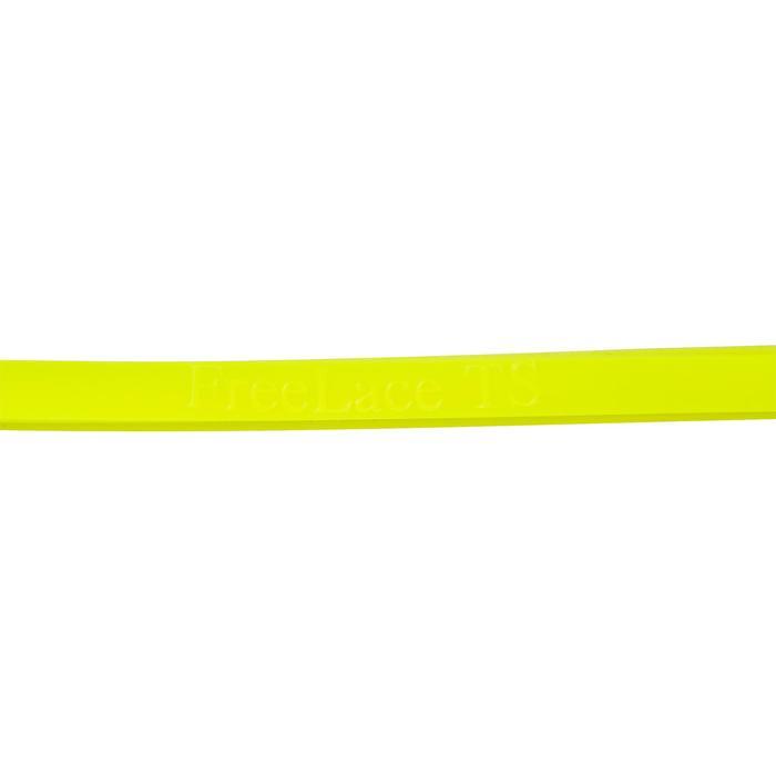 Siliconen veters Freelace TS geel triatlon