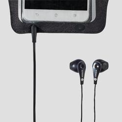 大型智慧型手機跑步臂套 - 黑色