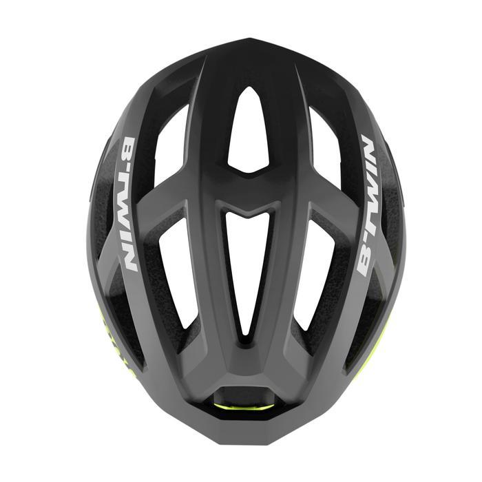 Fahrradhelm Aerofit 900 schwarz/neongelb