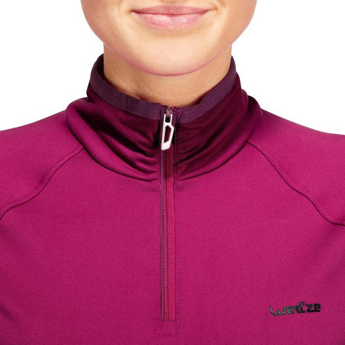 Dames ondershirt Freshwarm voor skiën 1/2 rits wit