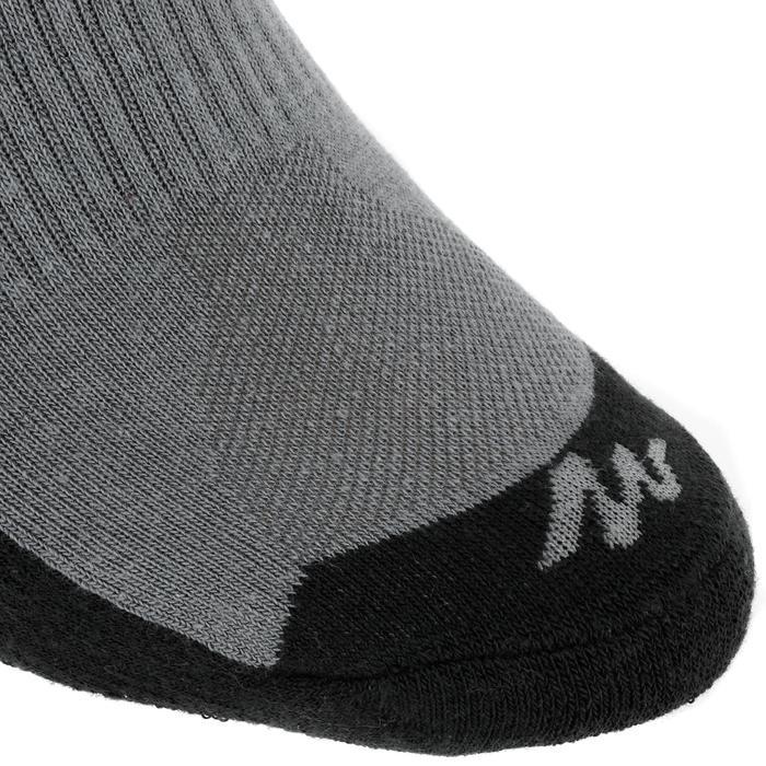 2入郊野健行高筒襪NH100-灰色