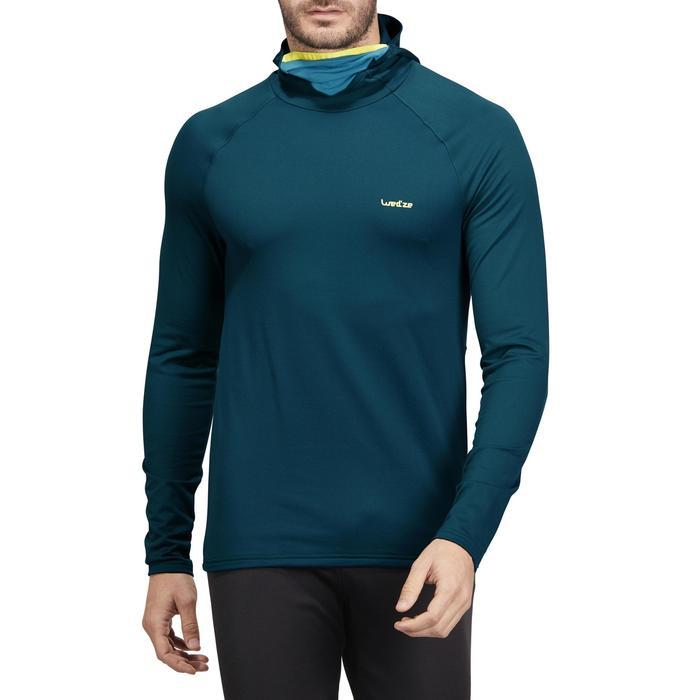 Skiondershirt voor heren Freshwarm Neck blauw