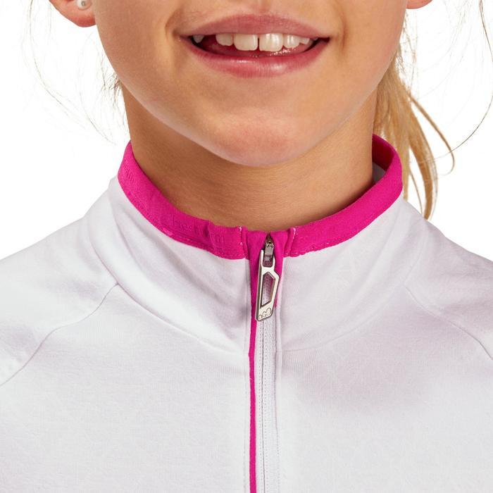 Kinder ondershirt Freshwarm voor skiën 1/2 rits wit