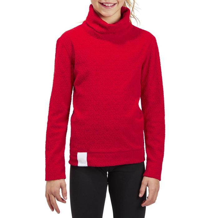 Skiunterwäsche Funktionsshirt 2Warm Kinder rot