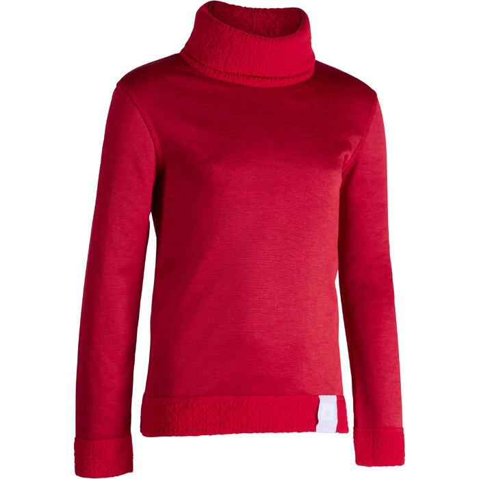 Camiseta de esquí niño 2WARM rojo