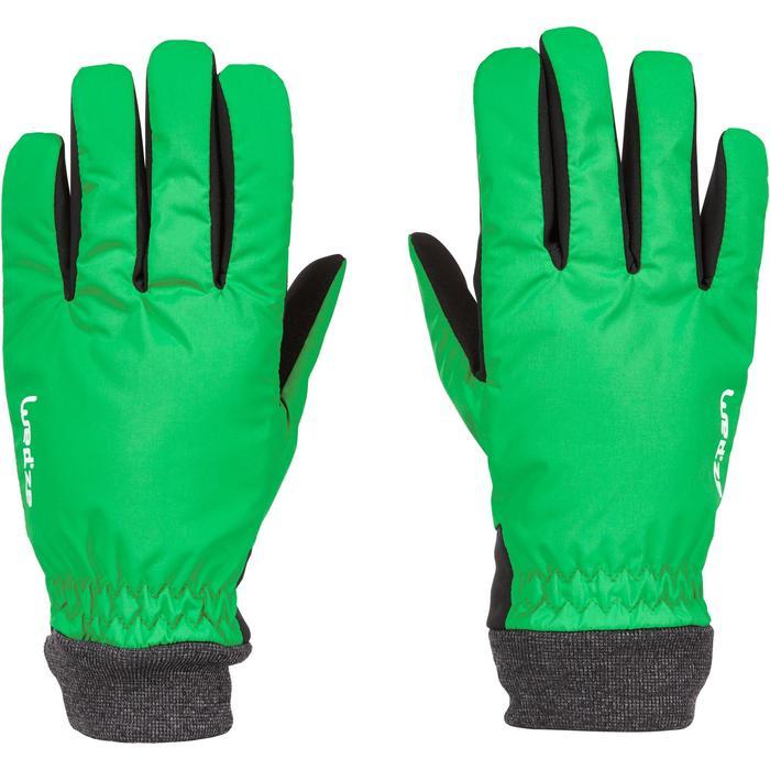 Pistehandschoenen voor heren en dames Warm Fit groen