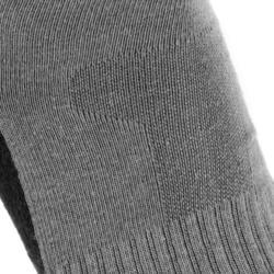 Country walking socks - NH100 High - X2 pairs - grey