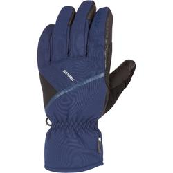 ADULT 500 DOWNHILL SKI GLOVES BLUE