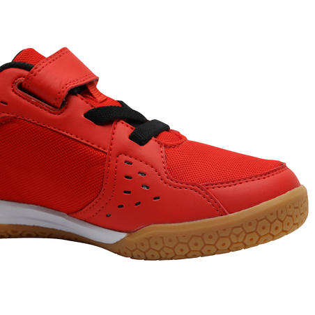 BS730 JR Kids' Badminton Shoes - Merah