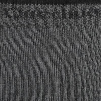 جوارب طويلة للمشي لمسافات طويلة في الطبيعةزوجين ARPENAZ 50 – لون رمادي