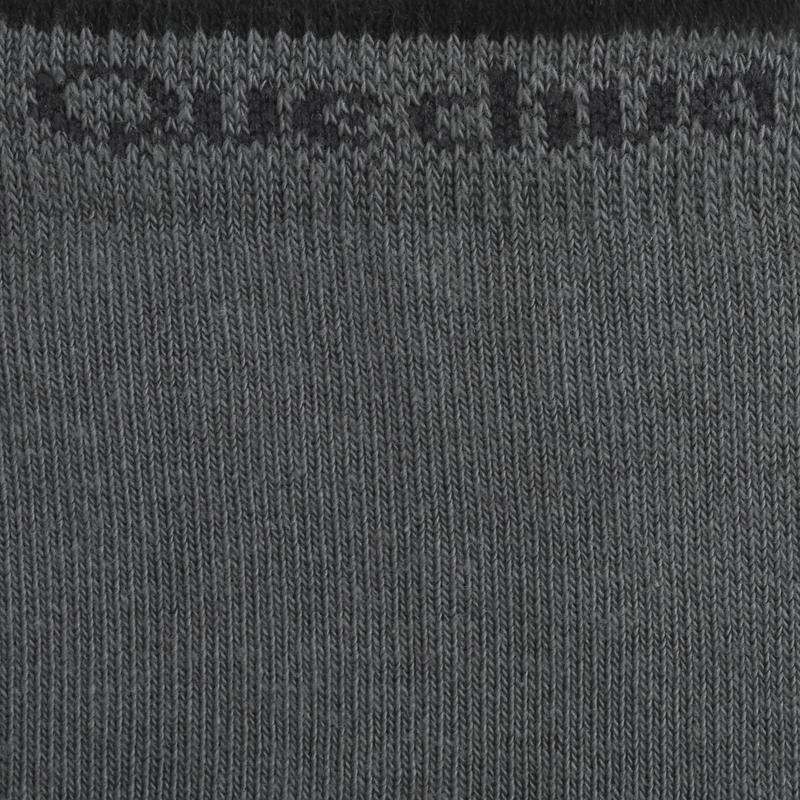 Chaussettes randonnée nature gris - NH100 High - X 2 paires