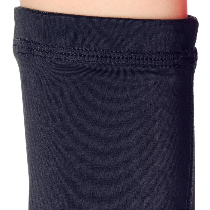 Intermediate Boys'/Girls' Basketball Padded Sleeve - Black