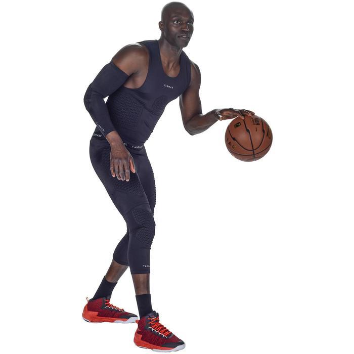 Codera Protección Baloncesto Tarmak EP500 Adulto Negro
