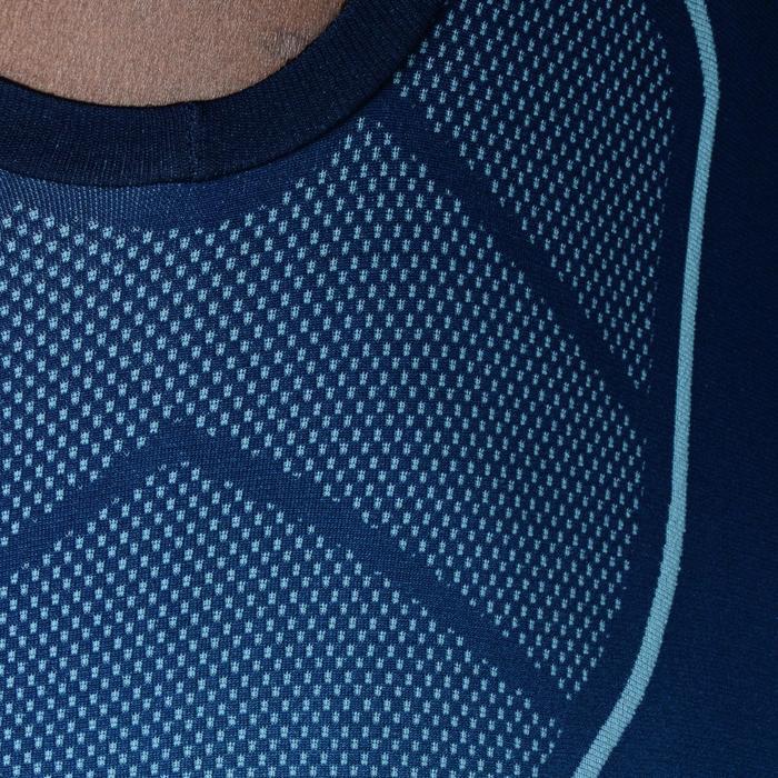 Camiseta térmica sin mangas transpirable hombre Keepdry 500 azul marino