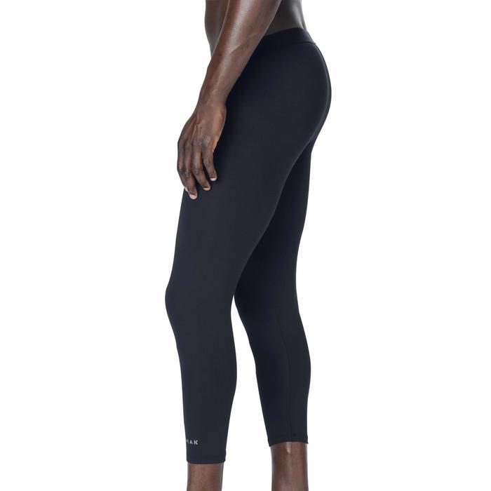 籃球七分底層緊身褲 (中階籃球員使用)-黑色