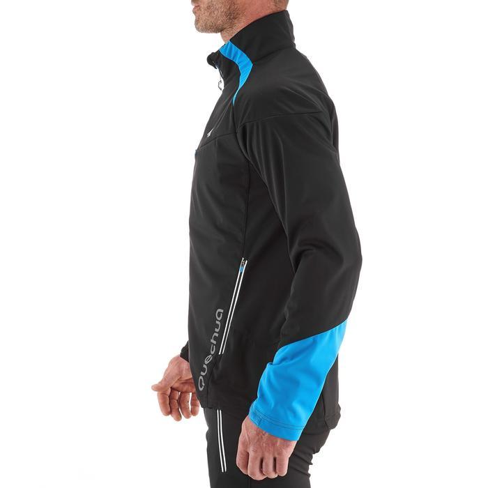 Veste ski de fond coupe vent homme bleue - 1217861