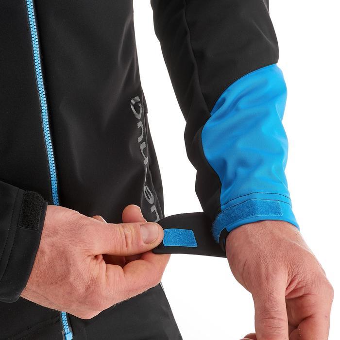 Veste ski de fond coupe vent homme bleue - 1217872