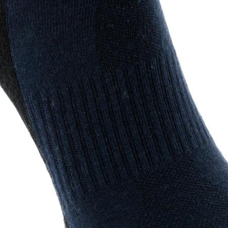 Country walking socks NH 100 Mid X2 pairs - Navy