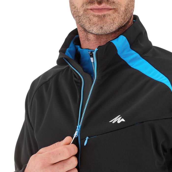 Veste ski de fond coupe vent homme bleue - 1217902